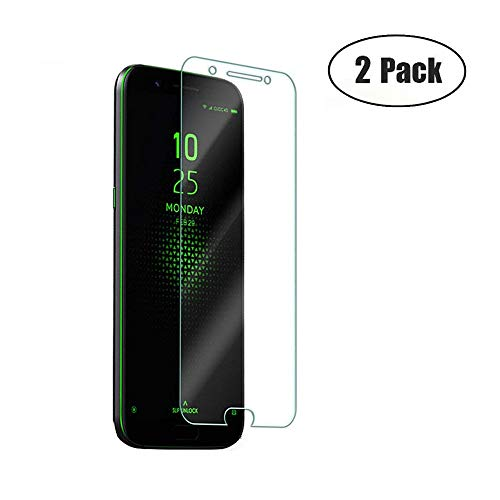 JayTong 2PCS Clear Screen Protector Tempered Glass for Xiaomi Black Shark 5.99