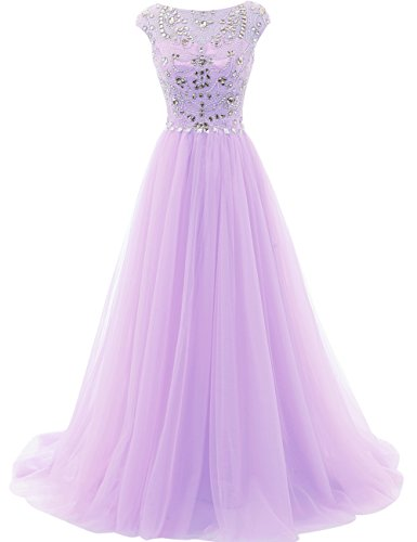 Party Gown Lavender Dresses Dress Tulle Evening Formal JAEDEN Quinceanera Long Dress Prom FAfq0