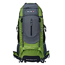 60L large capacity waterproof tear resistant breathable hiking outdoor travel backpack