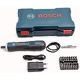 Bosch 3.6V Cordless GO Smart Screwdriver Set Blue