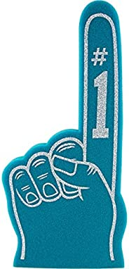 Finger Number 1 Universal for All Occasions Cheerleading Pompom for Sports Exciting Colours Athletics Local Sp