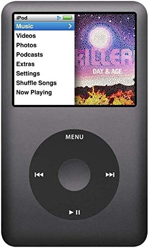 Amazon Com Apple Ipod Classic Video 80gb Black 6th Generation Discontinued By Manufacturer Comes With Generic Ear Pods Wall Pug And Charging Wire Packaged In White Box Mp3 Players Accessories