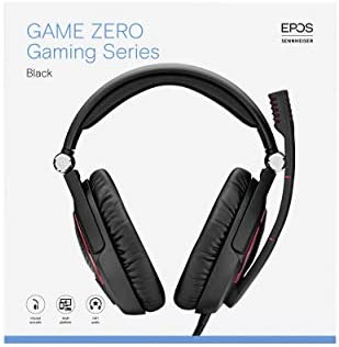 EPOS I SENNHEISER GAME ZERO Gaming Headset, Closed Acoustic with Noise cancelling microphone, Foldable, Flip-to-mute, Ligthweight, PC, Mac, Xbox One, PS4, Nintendo Switch, and Smartphone compatible. 20