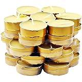 Mandala Crafts Tibetan Buddhist 35 Tealight Vanaspati Ghee Butter Lamp Candle Set