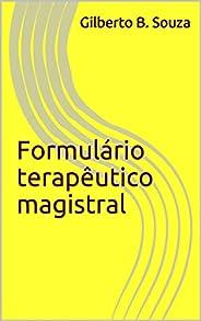 Formulário terapêutico magistral