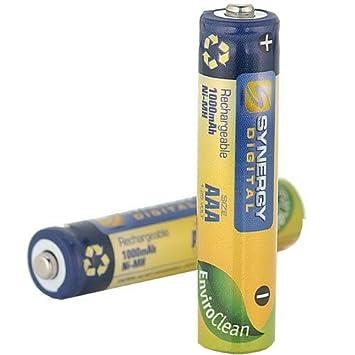 Panasonic hhr55aaabu batería de teléfono inalámbrico Ni-Mh, 1.2 Volt, 1000 mAh - Ultra de Alta Capacidad - de Repuesto para 2 Pilas Recargables: Amazon.es: Electrónica