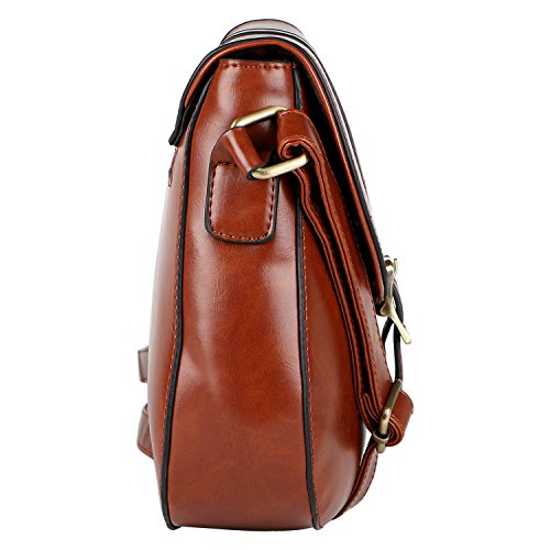 SLING PERROS LEATHER LINO PERROS WOMEN'S LINO BAG BROWN BROWN Awqaqtx0H