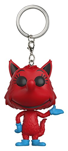 Funko Pop Keychain: Dr. Seuss Fox in Socks Toy Figure