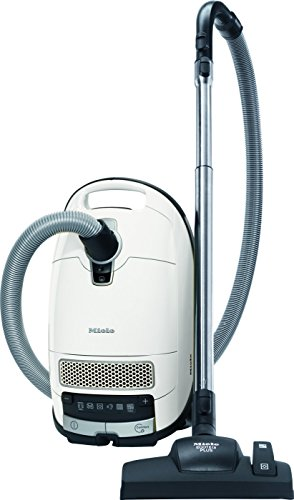 Miele Complete C3 Silence EcoLine Bodenstaubsauger / A / Lotosweiß / Plus-/Minus-Fußsteuerung / AirClean Filter