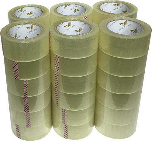 Universal Clear Packing Tape - 110 Yards Per Roll - 36 Rolls - 2