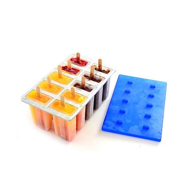 Stampo ghiaccioli Norpro Plastica da 10 Nuovo 3 spesavip