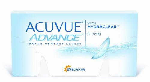 Acuvue Advance 2-Wochenlinsen weich, 6 Stück / BC 8.3 mm / DIA 14.0 / -2,00 Dioptrien