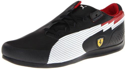 Puma Men's Evospeed F1 Low SF Sneaker,Black-White,11 D US (Mens Disco Shoes)