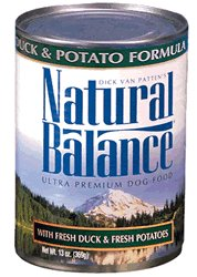 Natural Balance LID Can Dog Food 12 Pack Duck