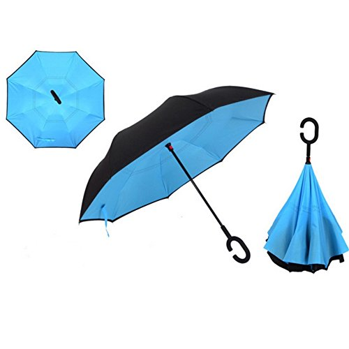 Double-Layer-Inverted-Umbrella-Cars-Reverse-UmbrellaEuow-Windproof-UV-Protection-Folding-Umbrellas-for-Car-and-Outdoor-Use-With-C-Shaped-Handle-and-Carrying-Bag