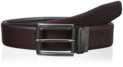 Steve Madden Mens 35Mm Pebble Reversible Belt Brown/Black