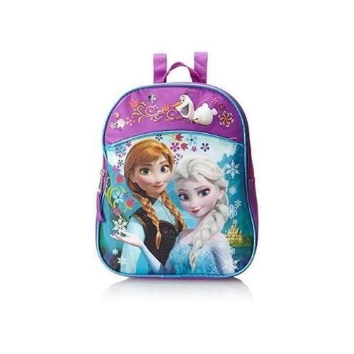 Disney Frozen Anna Elsa Girls Toddler PreSchool Backpack Book bag 30 ... d8ecd400bd