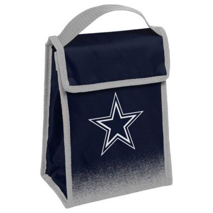 Cowboys Lunch (FOCO Dallas Cowboys Gradient Velcro Lunch Bag)