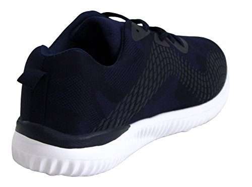 7 Gym Sizes Trainers Mesh Shoes Lace Sneakers Sport Running Canvas 12 White Up Fitness Mens Navy Airtech 4q0wUFFO