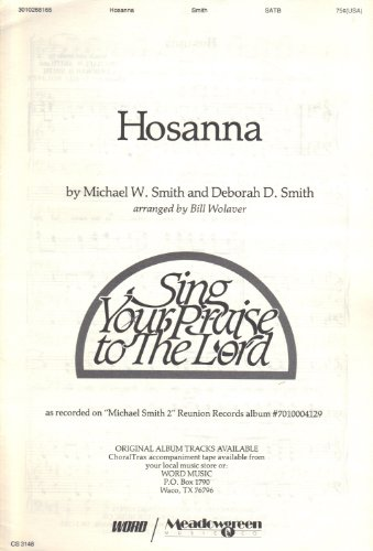 Hosanna (Sing Your Praise to the Lord) (Sing Your Praise To The Lord Sheet Music)
