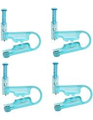 Buorsa 4 Pieces Disposable Ear Piercing Gun Safety Unit...