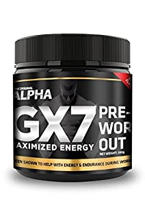 Alpha Gx7 Pre-workout – Maximized Energy
