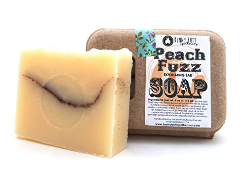 Peach Fuzz Exfoliating Soap Bar