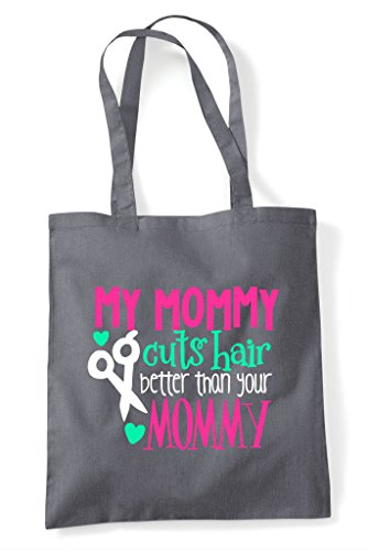 Your Dark Better Mommy My Than Hair Shopper Tote Cuts Grey Bag Xwq6z