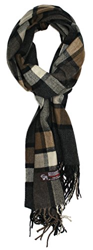 Ted and Jack - Ted's Classic 20% Cashmer - Brown Viscose Scarf Shopping Results