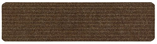 Stair Treads Collection Indoor Skid Slip Resistant Carpet Stair Tread Treads (Brown, 1 piece (7 in x 24 in))