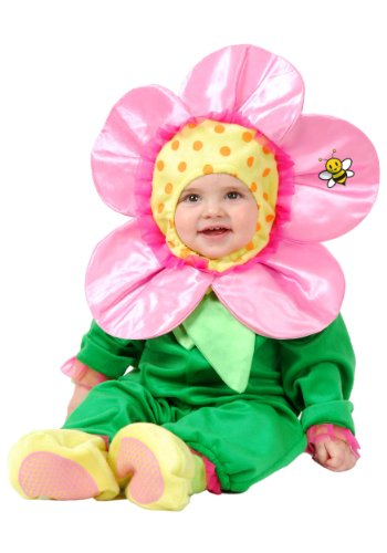 Costumes Little Flower W/Snap Tape Newborn-New Born