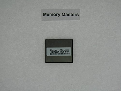 MEM2691-64CF 64MB Compact Flash upgrade for Cisco 2691 Routers(MemoryMasters)