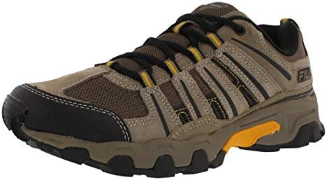 Fila Mens Day Hiker Suede Mesh Inset Hiking