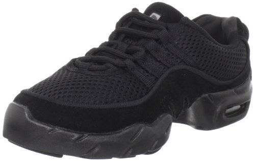 Bloch Girl's Boost Mesh Dance Sneaker S0538G (Toddler/Little Kid/Big Kid), Black, 1.5 M by Bloch