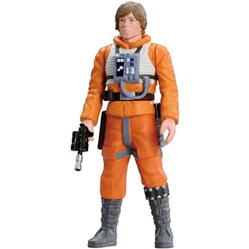 Takara Tomy - Figurine Star Wars - Luke Skywalker Pilot Métal Collection 6cm - 4904810828778