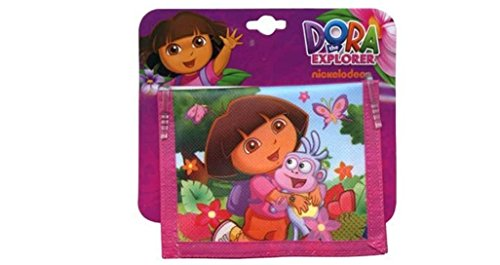 Dora the Explorer Bifold Kids Wallet Dora The Explorer Wallet