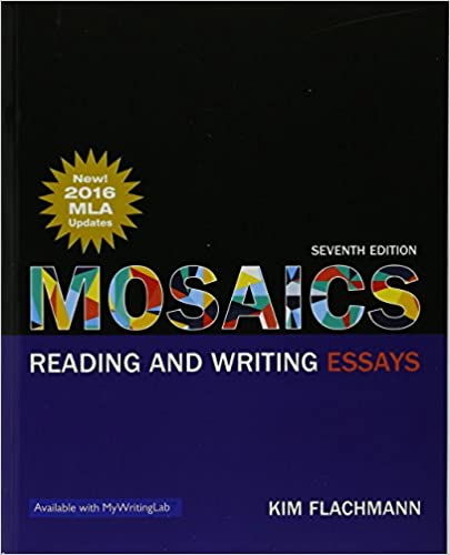 com mosaics reading and writing essays mla update th  mosaics reading and writing essays mla update 7th edition 7th edition