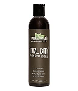 Taliah Waajid Total Body Black Earth Shampoo 8OZ.