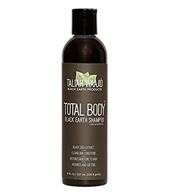 Taliah Waajid Total Body Black Earth Shampoo 8OZ.