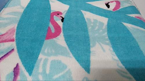 ZASKA Toalla algod/ón Adulto 300gsm 80x160cm colecci/ón Flamenco 2 Multicolor sin Datos