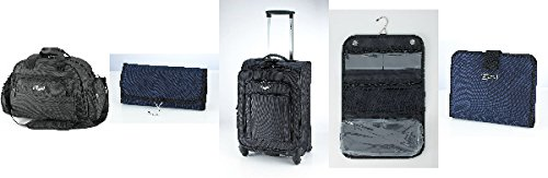 Bamf Collection 28200 1680D Deluxe 5 Piece Travel Luggage Set, (Collection 5 Piece Luggage Set)
