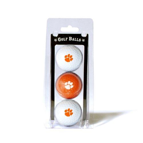 Tigers Team Logo Golf - NCAA Clemson Tigers 3 Golf Ball Pack