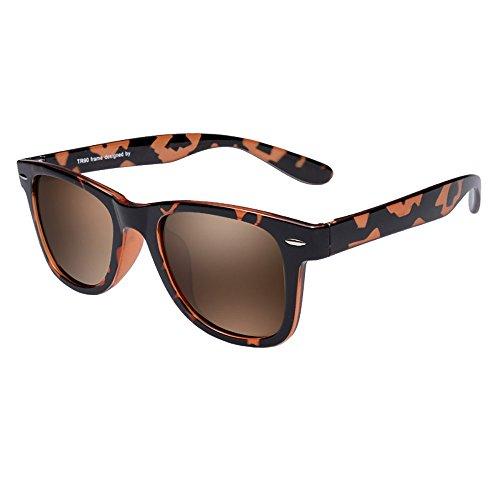 Sonnenbrille Trend Multi-Color Unisex Anti-Glare Anti-UV polarisierte Sonnenbrille ( farbe : F ) Aw98Mf3