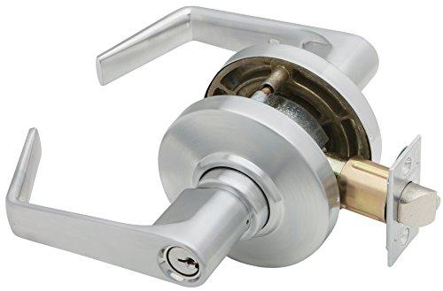 Schlage AL80PD SAT 626 C123 AL SER Storeroom Lock, Brass by Schlage Lock Company