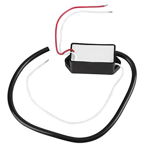 High Voltage Inverter (DC 3.6V/4.8V/6V/12V High Voltage Transformer 3kV-11kV Boost Step-up Inverter Arc Pulse Generator Power Module Black)