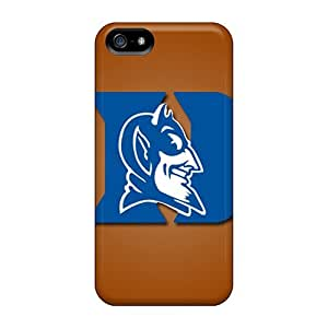 Flexible Tpu Back Case Cover For Iphone 5/5s - Duke Blue Devils