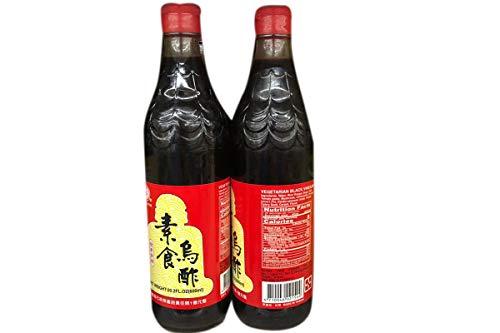 Vegetarian Black Vinegar - 20.2fl oz (Pack of 2)