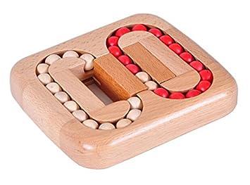 Isoxidtm Classic Iq Puzzle Mind Brain Teaser 2d 3d Wooden Puzzles