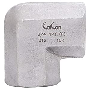 Calcon Elbow, Connection: 3/4 Inch F x F NPT, 10000 Psi