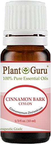 Cinnamon Bark Ceylon Essential Oil - Cinnamomum Zeylanicum - 10 ml. 100% Pure Undiluted Therapeutic Grade.